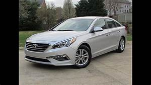 2015 Hyundai Sonata Eco Start Up  Road Test  And In Depth Review