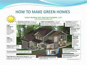energy efficient house plans ppt green