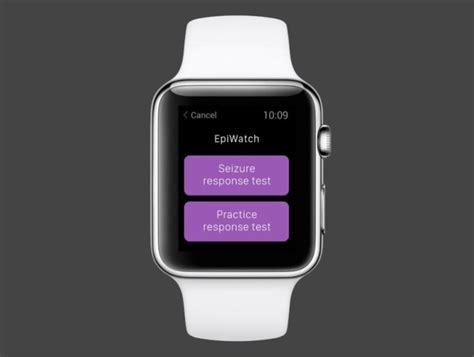 epiwatch app taps applewatch  monitor seizures