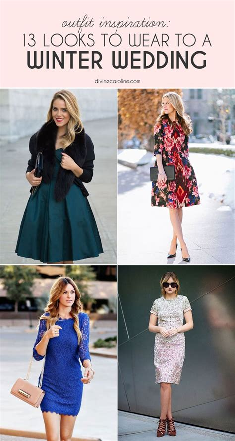 what to wear to a winter wedding 13 looks to