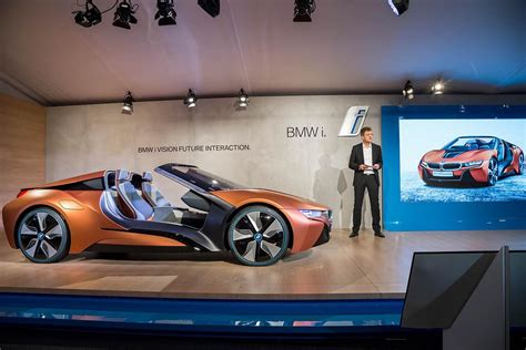 Bmw I Vision Future Interaction Concept Car Live Auf Der