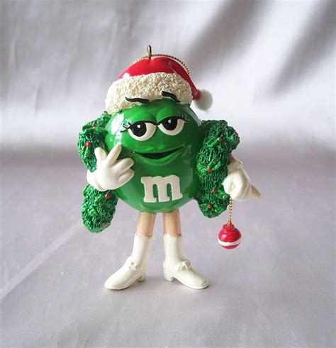 m m candy character christmas ornament from