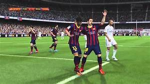 FIFA 14 - Gameplay PlayStation 4 - Barcelona Vs Real ...