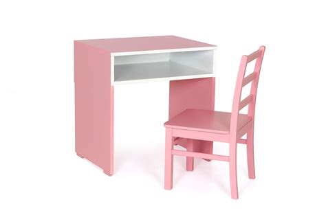 Kids Pink Study Set Stone Dining Room Table Off White Furniture Centerpieces Modern Christmas Decorations Tables For 6 Houzz Rooms Images Photos How To Make A Bench