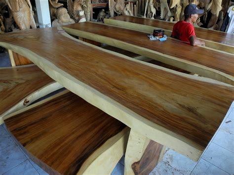 Furniture Natural Wood Color Wall Shelf Home Decor: The Best Natural Wood Slab Table Natural Wood Furniture