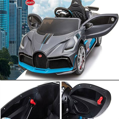 The bugatti divo can be subtle or in your face. Licensed BUGATTI Divo Electronic Car Kids