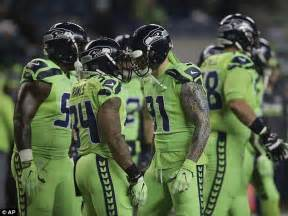 seattle seahawks bright green color rush uniforms catch