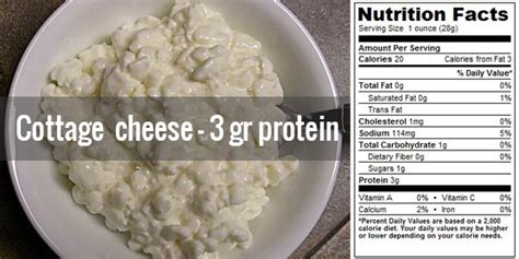 cottage cheese protein 30 cheap high protein food sources