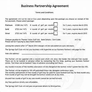 11 sample business partnership agreement templates to download sample templates for Business partnership agreement template free download