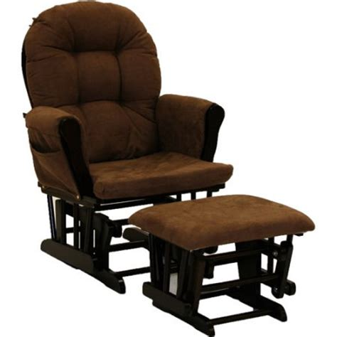 Glider Chair Cushions Walmart by Storkcraft Hoop Glider And Ottoman Espresso With Chocolate