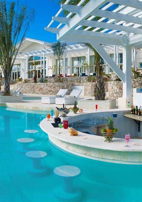 Bar Pool 33 mega impressive swim up pool bars built for entertaining