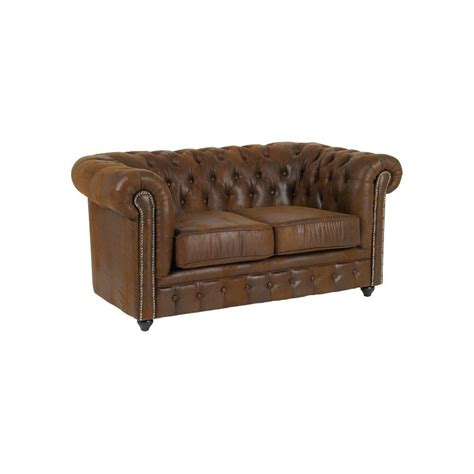 canapé chesterfield marron preview