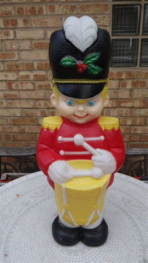 vintage drummer boy lighted christmas outdoor blow