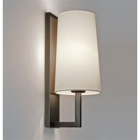 astro 7023 riva 350 1 light wall light bronze