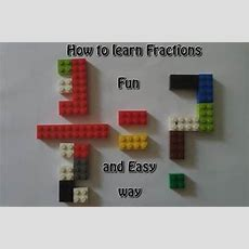 How To Learn Fractions Fun And Easy Way  Stem Little Explorers