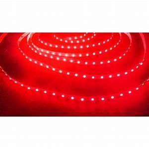 Ruban Led Rouge : ruban led rouge 2835 12 watts m ~ Edinachiropracticcenter.com Idées de Décoration