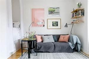 Salon Canapé Gris : decoration salon blanc et rose ~ Preciouscoupons.com Idées de Décoration