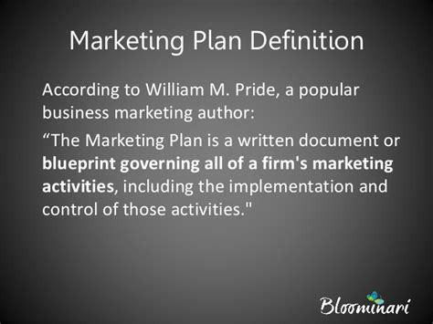 understanding  marketing plan