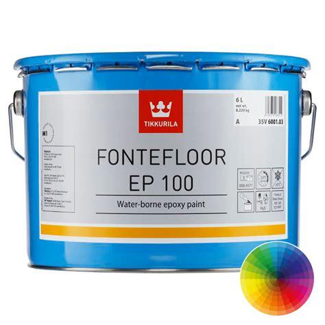 Tikkurila Fontefloor EP 100 | Concrete Floor Coatings | Rawlins Paints