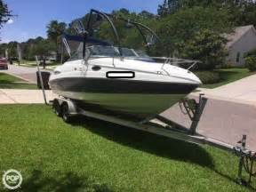 Bowrider Boat With Cuddy Cabin by 2008 Used Chaparral 215 Ssi Cuddy Cabin Bowrider Boat For