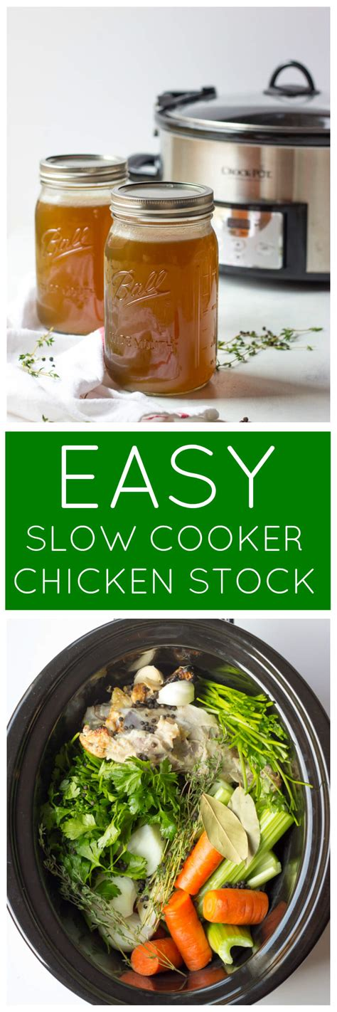 chicken slow easy cooker homemade littlebroken broken