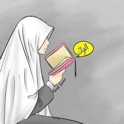 gambar foto kartun muslimah terbaru  kartun gambar sketsa