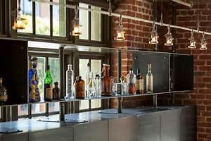Meuble De Cuisine Industriel : meuble haut de cuisine en acier ~ Teatrodelosmanantiales.com Idées de Décoration
