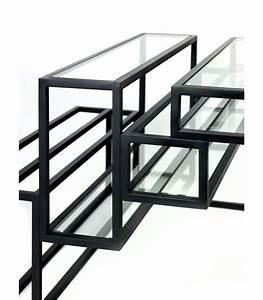 Table Basse Metal Verre : table basse en m tal et verre serax frenchrosa ~ Mglfilm.com Idées de Décoration