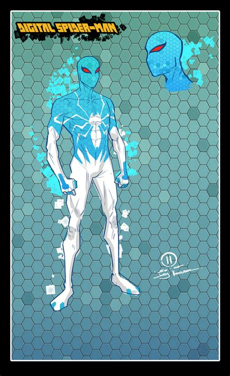 digital spider design by joeyvazquez on deviantart