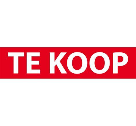 Te Koop Yde voor de goedkoopste makelaarssticker komt u bij printklusje nl