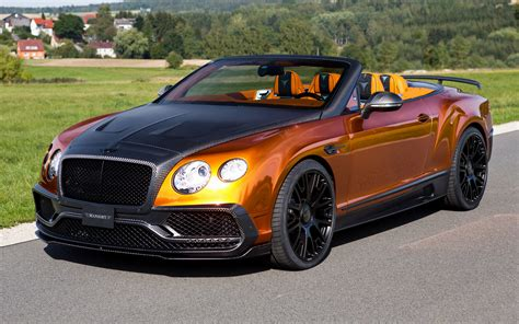 Bentley Continental Gtc By Mansory (2015) Wallpapers And