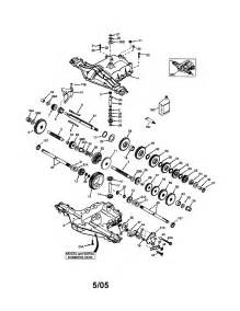 murray tractor mower deck parts model 425014x92e