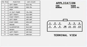 Diagram  2001 Honda Accord Car Stereo Radio Wiring