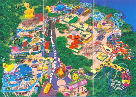 Theme Park Brochures Sesame Place - Theme Park Brochures
