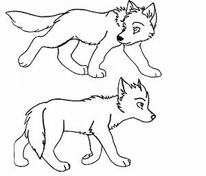How To Draw A Wolf Pup   Find Jobs By Skills - AZ Coloring ...