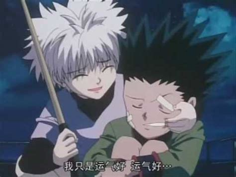 hunter  hunter killua amv yesterday youtube