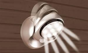 lampe led 1299 eur detecteur mouvement pivotant 360 With carrelage adhesif salle de bain avec projecteur a led sans fil