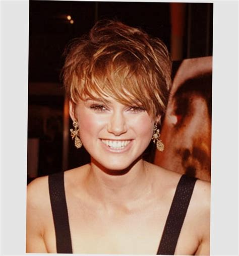 Low Maintenance Hairstyles For Round Faces 20 Photo Of Low