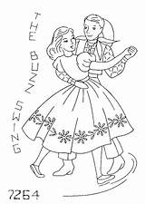 Embroidery Square Dance Coloring Flickr Dancing Yee Patterns Pages Pattern Haw Swing Cross Mmaammbr Music Template Transfers Applique Stitch sketch template