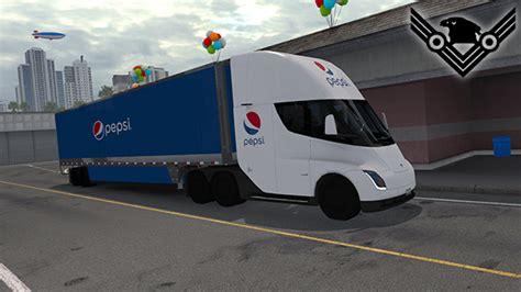 skin boxs  tesla semi truck ats american truck