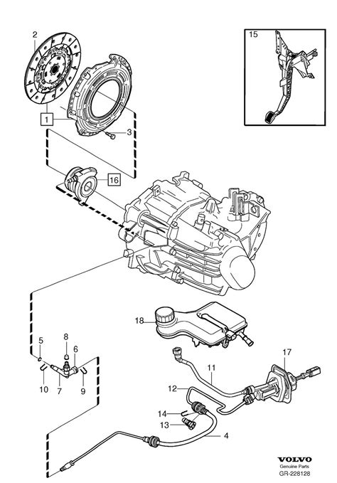 volvo quick coupling clutch mechanical manual