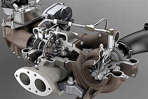 Ford Packaging Both 6 4l Power Stroke Turbos