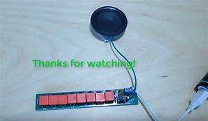 Diy Kit Ne555 Electronic Component Parts Electric Piano