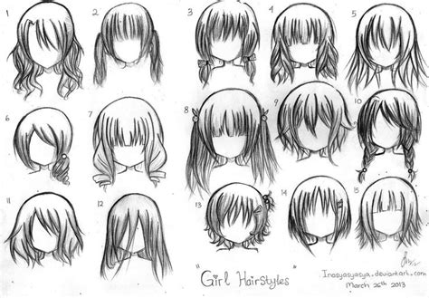 short anime hairstyles for girls manga hairstyles girl