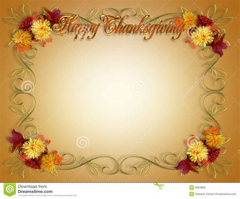thanksgiving borders for word