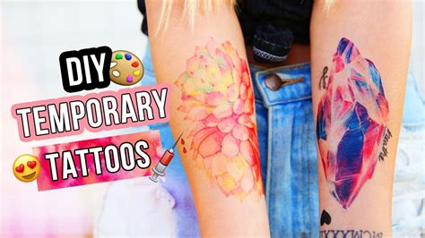 diy temporary tattoos tested youtube