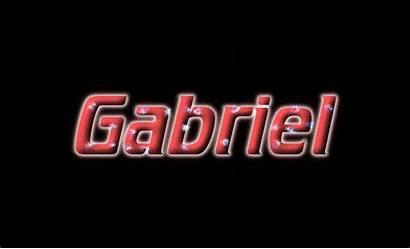 Gabriel Text Animated Logos