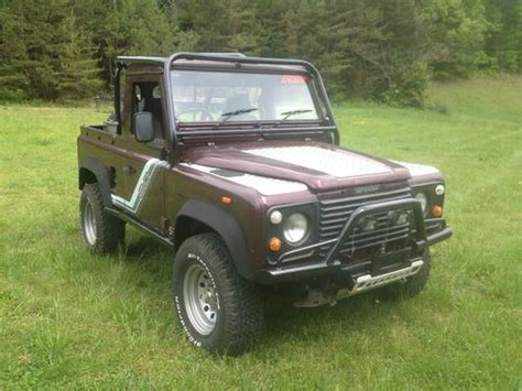 sell   land rover defender   knoxville