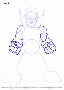 Learn How To Draw Iron Fist From The Super Hero Squad Show