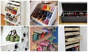 Schuhe Aufbewahren Ideen : schuhe aufbewahren 33 praktische tipps f r jede wohnung ~ Markanthonyermac.com Haus und Dekorationen